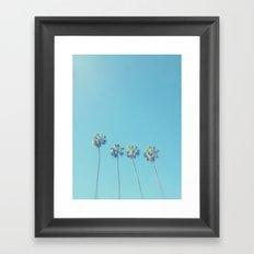 Blue Paradise Framed Art Print