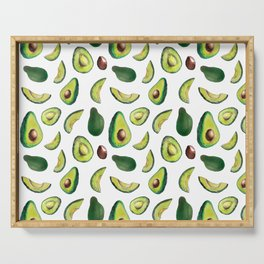 Avocado Pattern Serving Tray