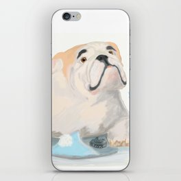 If dogs could speak iPhone Skin