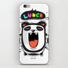 PANDA LUNCH TIME! iPhone & iPod Skin