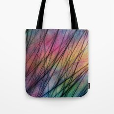 Tropical Feather Abstract II Tote Bag
