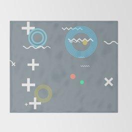 Random Art Four Throw Blanket
