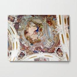European Cathedral Metal Print