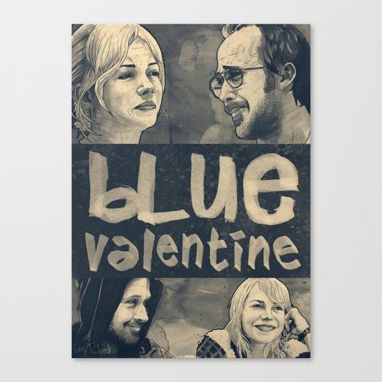 Blue Valentine Canvas Print