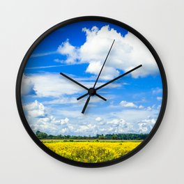 Michigan Bliss Wall Clock