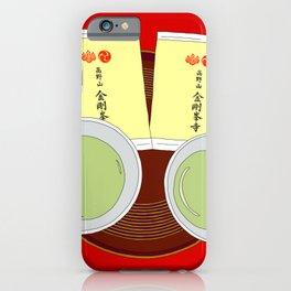 Tea Ceremony in Koyasan, Japan iPhone Case