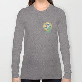 Mermaid Pin-up Long Sleeve T-shirt