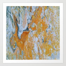 Fire Inside Art Print