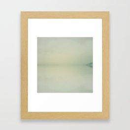 Fading Horizon Framed Art Print