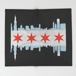 Chicago Pride Throw Blanket
