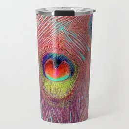 Abstract Of Eyes Travel Mug