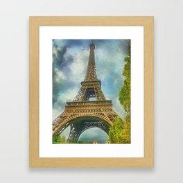 Eiffel Tower - La Tour Eiffel Framed Art Print