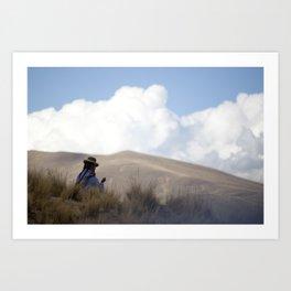 Peruvian Countryside Art Print