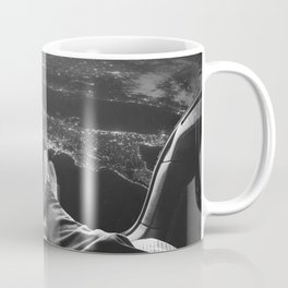 Lost in Space Over Italy Coffee Mug