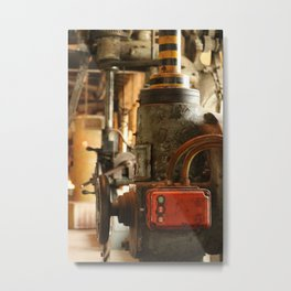 Heavy Industry - Old Machines Metal Print