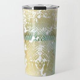 Fractured Gold Travel Mug