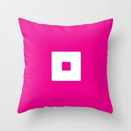 finicky_ scomb Throw Pillow