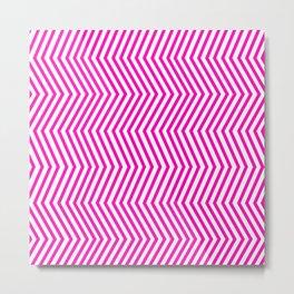 KAYA ((hot pink)) Metal Print