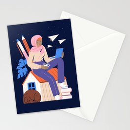 Working From Home Stationery Cards