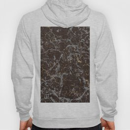 Crystallized gold stone texture Hoody