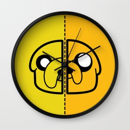 Old & New Jake The Dog Wall Clock