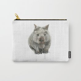 Wombat watercolour Carry-All Pouch