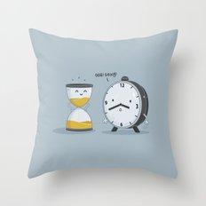 Hourglass Figure Throw Pillow