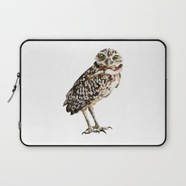 Low Poly  Burrowing Owl Laptop Sleeve