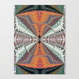 Wart Eye Pattern 3 Canvas Print