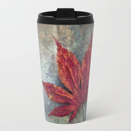 Maple leaf Metal Travel Mug