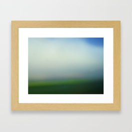green 13 Framed Art Print