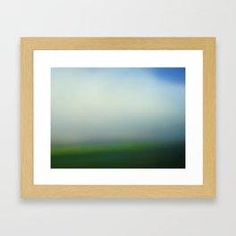 green 13 Framed Art Print