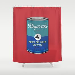 Kiki's delivery service - Miyazaki - Special Soup Series  Shower Curtain