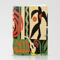 matisse Stationery Cards featuring Inspired to Matisse (vintage) by Chicca Besso