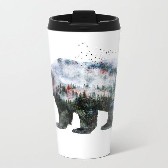 Bear XCI Metal Travel Mug