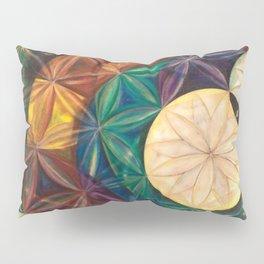 Tetrahedral Nodes HDR Pillow Sham
