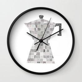 Coffee line maker Wall Clock