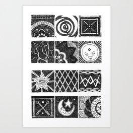 Mini minis Art Print