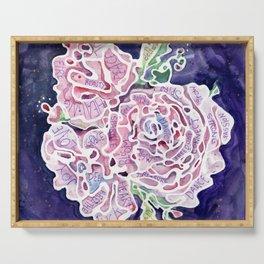Helena's Healing Roses Serving Tray