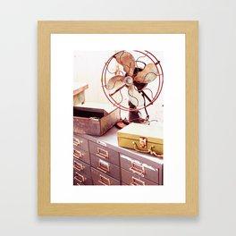 Open Air Office Framed Art Print