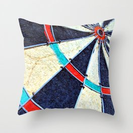 Dartboard Throw Pillow
