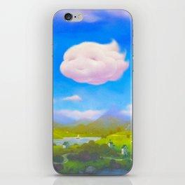 Cloudia iPhone Skin