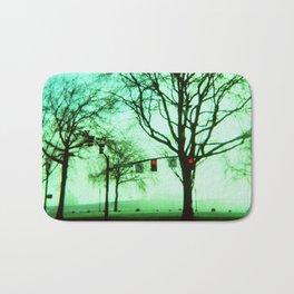 Green Fog Bath Mat