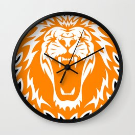 Wild jungle Animal Lion Roar Wall Clock