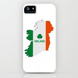Ireland map iPhone Case