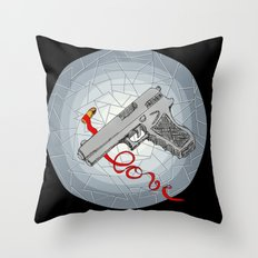 BANDIT LOVE Throw Pillow
