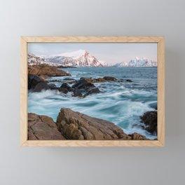 Winter Sea - Norway Framed Mini Art Print
