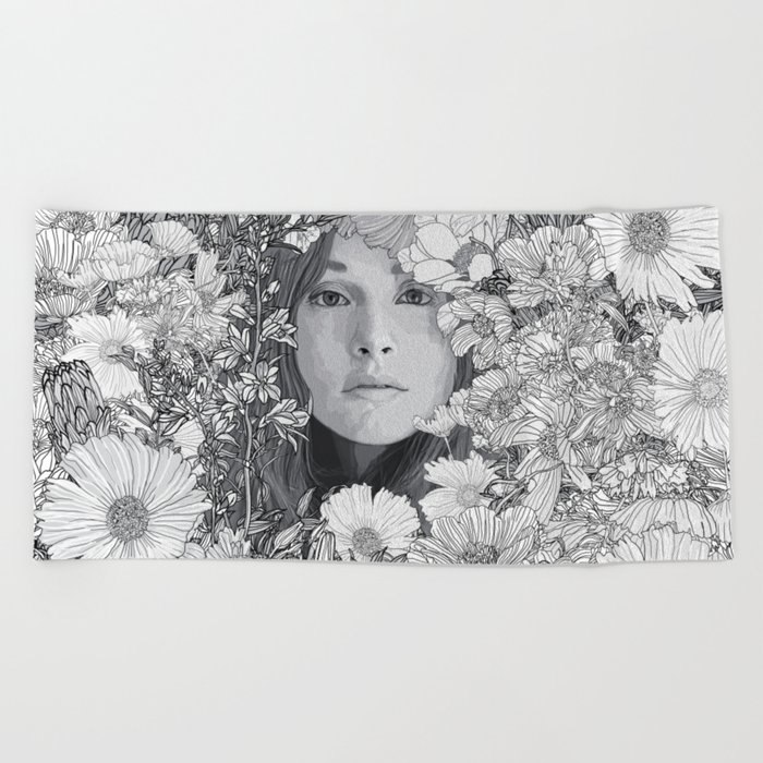 Just for a day Beach Towel