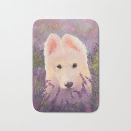 In the lavender fields Bath Mat