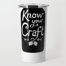 Know Your Craft Travel Mug